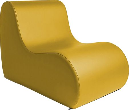 Kids Tamiko Yellow Large Chair
