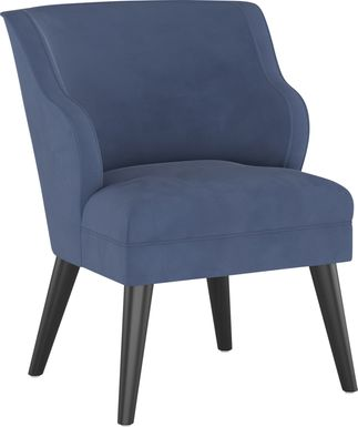 Tangere Blue Accent Chair