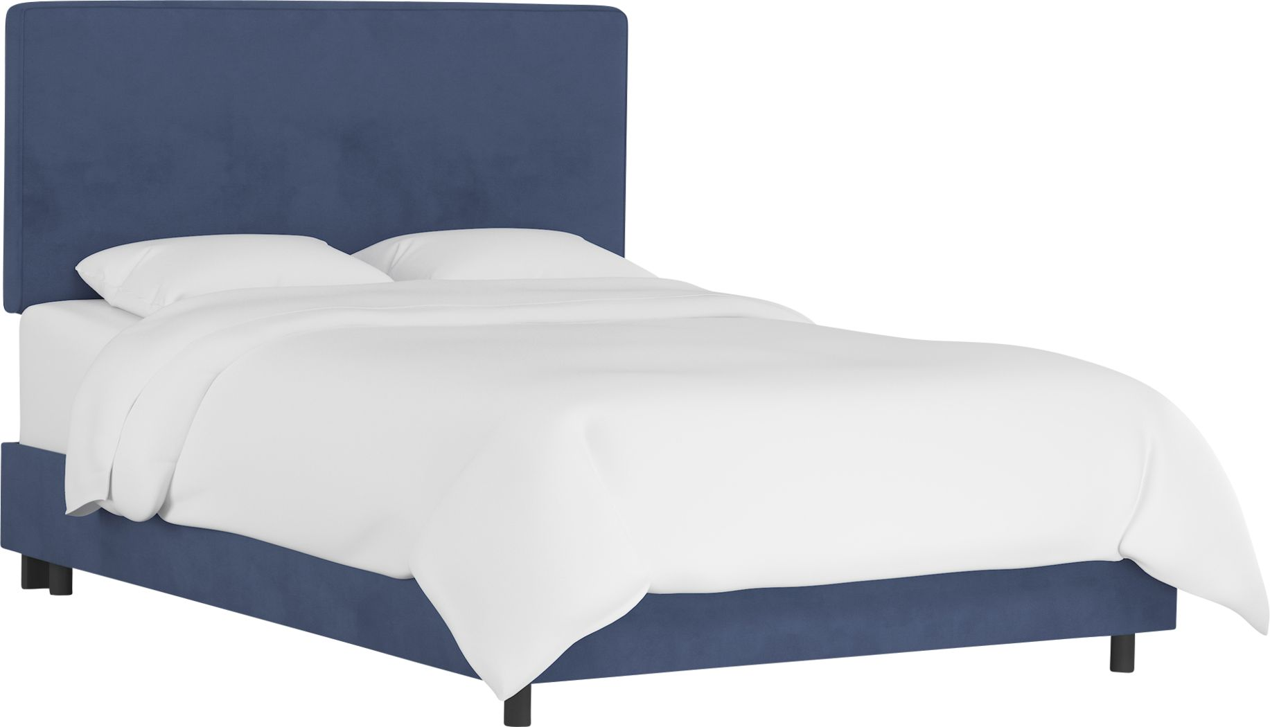 Tangere Blue King Upholstered Bed
