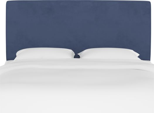 Tangere Blue Queen Upholstered Headboard