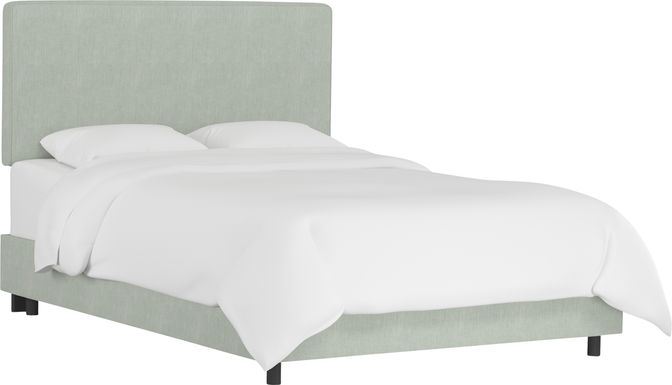 Tangere Mint Queen Upholstered Bed