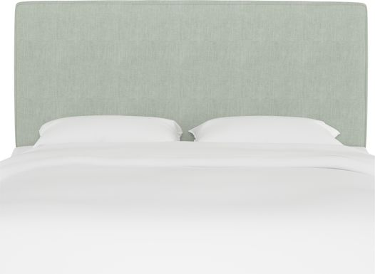 Tangere Mint Queen Upholstered Headboard