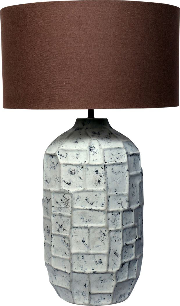 Tapia Gray Table Lamp