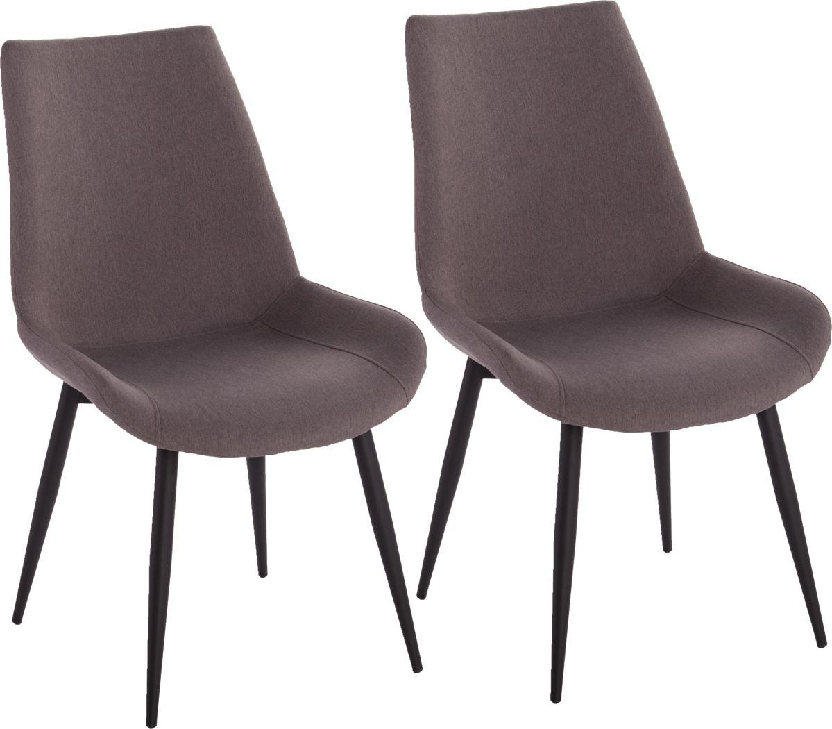 Taralane Gray Dining Chair, Set of 2