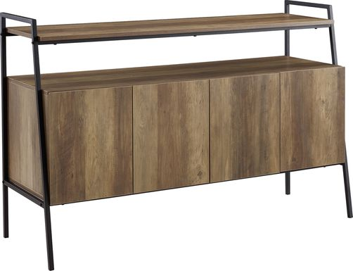 Tareyton Oak 52 in. Console