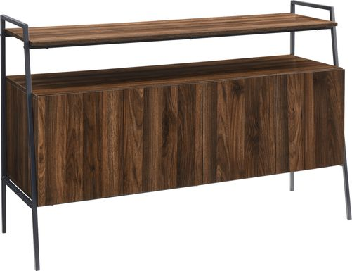 Tareyton Walnut 52 In. Console
