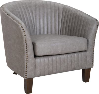 Tarlton Gray Accent Chair