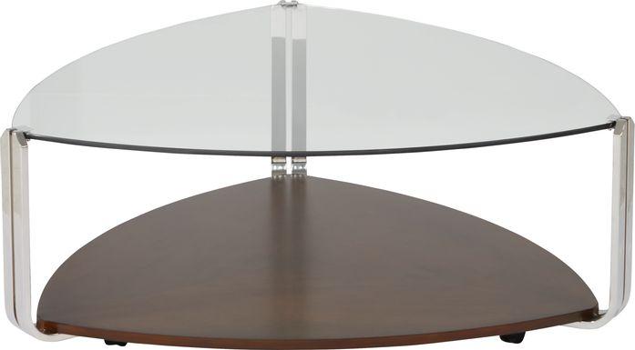 Tasley Walnut Cocktail Table