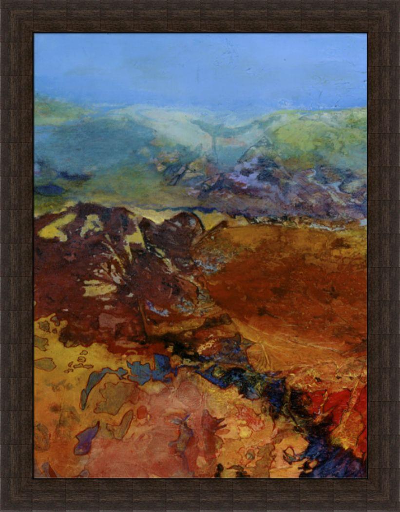 Tasman I Blue Artwork