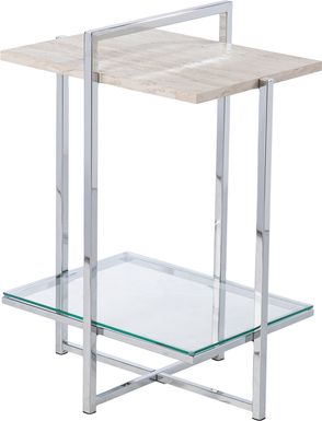 Tattenham Silver Accent Table