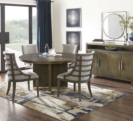 Taylor Trace Brown 5 Pc Round Dining Room