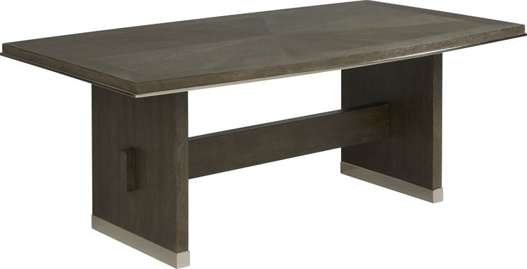 Taylor Trace Brown Rectangle Dining Table