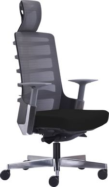 Tazewell Black Office Chair