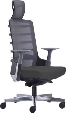 Tazewell Gray Office Chair