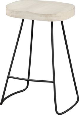 Telesmar Ivory Counter Height Stool