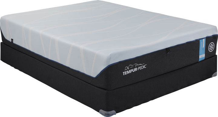 TEMPUR-LUXEbreeze Soft Low Profile King Mattress Set