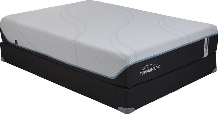 TEMPUR-ProAdapt Medium Hybrid Low Profile King Mattress Set