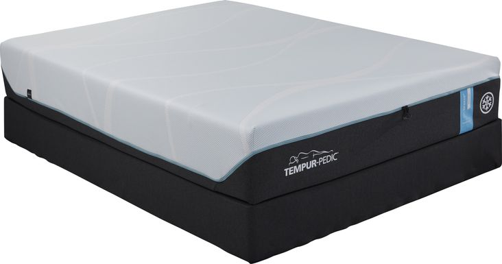 TEMPUR-PRObreeze Medium Low Profile King Mattress Set