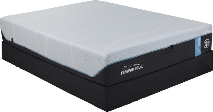 TEMPUR-PRObreeze Medium Low Profile Queen Mattress Set