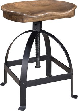 Tex Brown Counter Height Stool