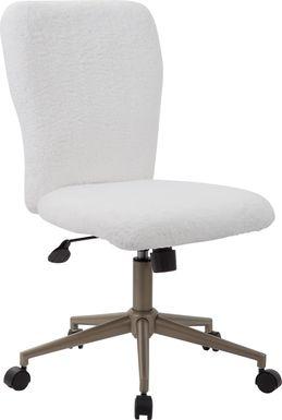 Thayne White Desk Chair