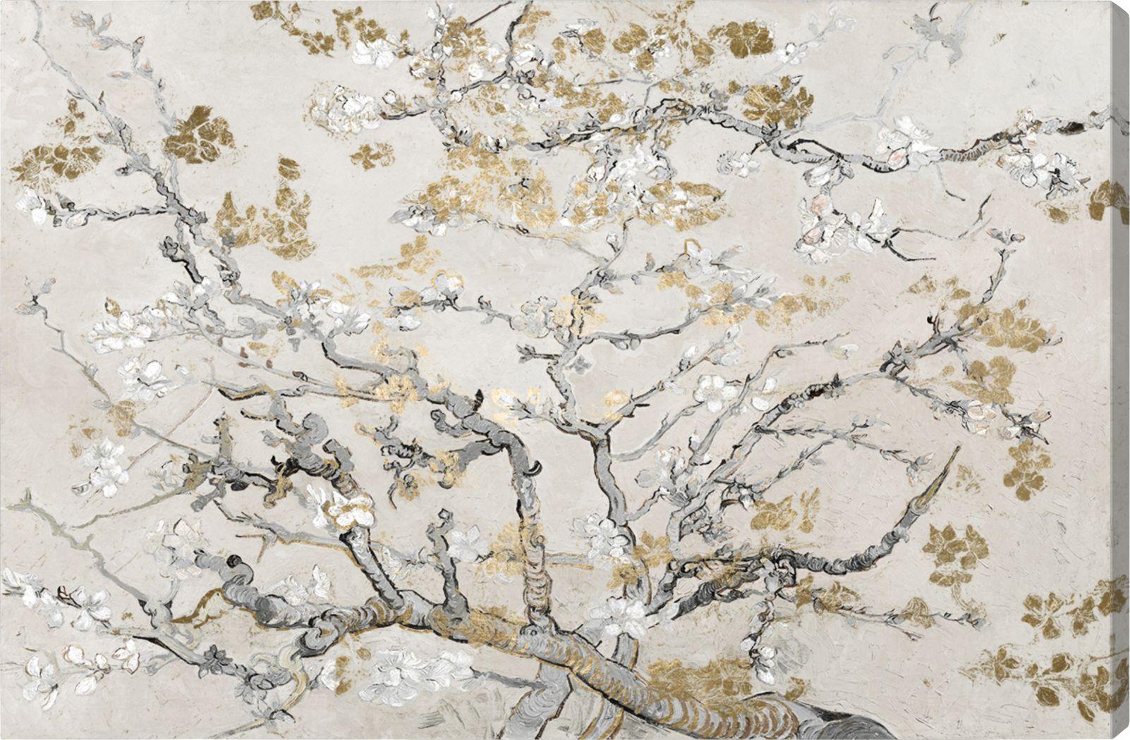 The Start Of Spring II Gold Artwork