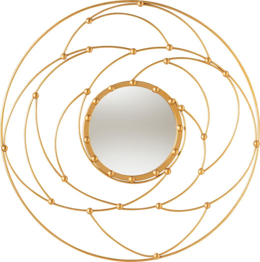 Theofila Gold Mirror