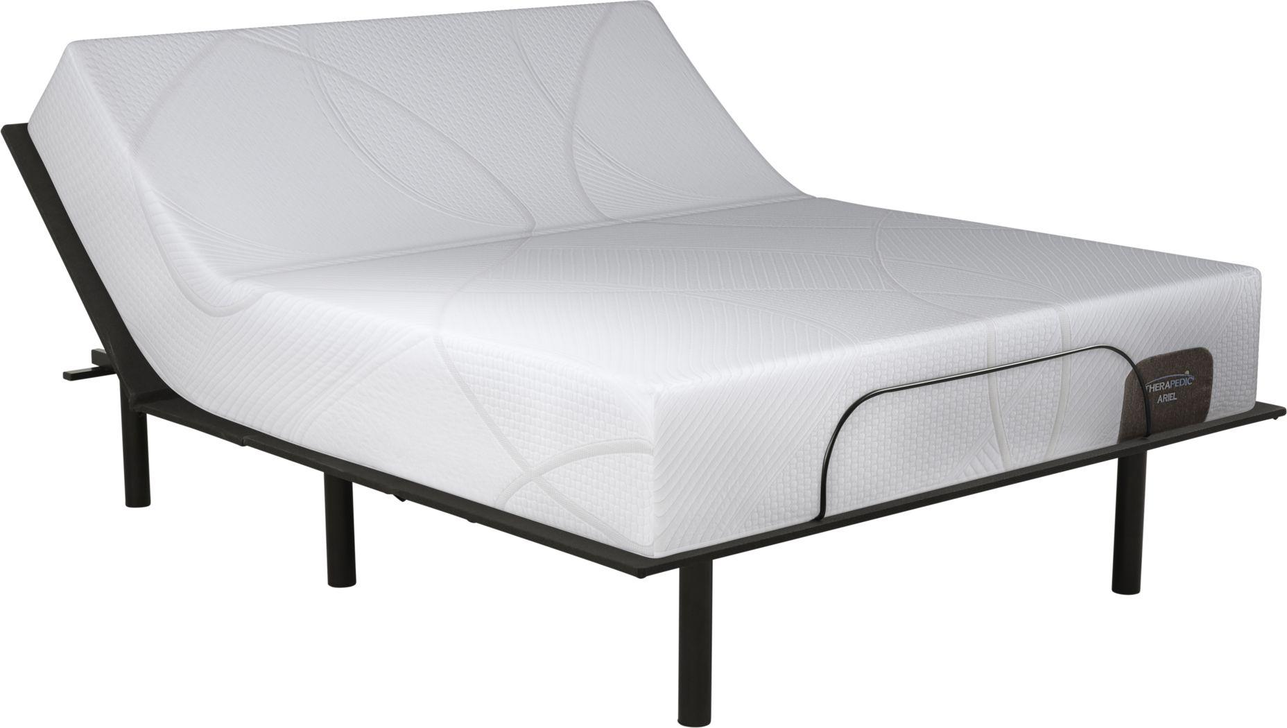 Therapedic Ariel King Mattress with RTG Sleep 2000 Adjustable Base