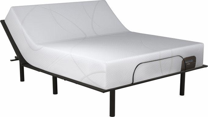 Therapedic Ariel Queen Mattress with RTG Sleep 2000 Adjustable Base