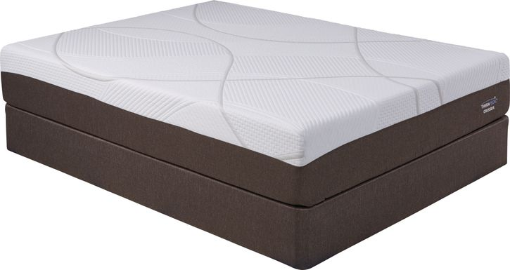 Therapedic Cressida Low Profile Queen Mattress Set