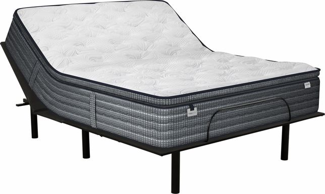 Therapedic Gleaston King Mattress with RTG Sleep 2000 Adjustable Base