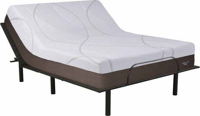 Therapedic Portia King Mattress with RTG Sleep 2000 Adjustable Base