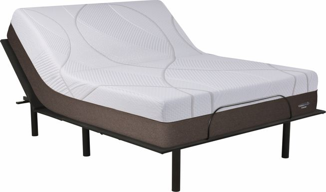 Therapedic Titania King Mattress with RTG Sleep 2000 Adjustable Base