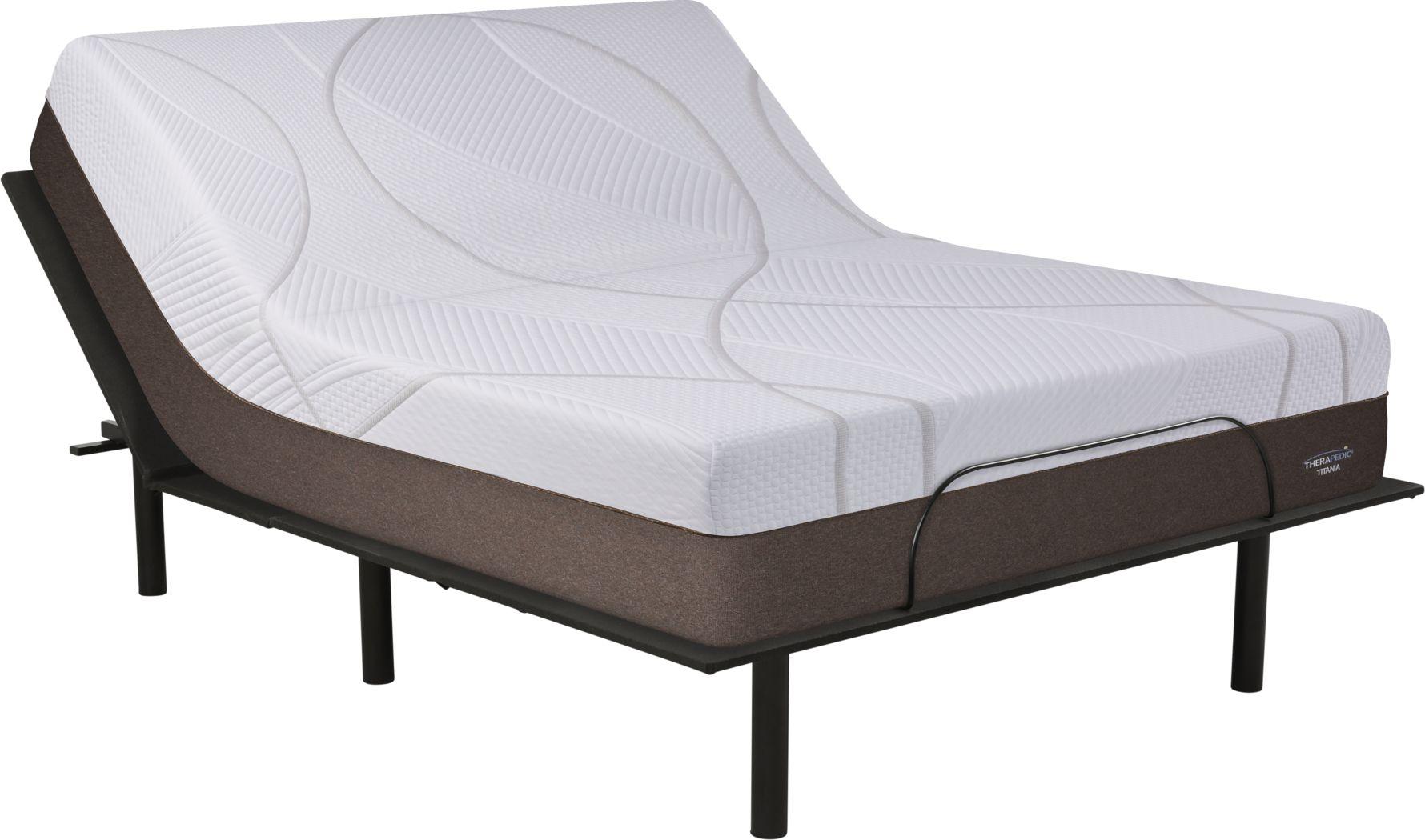 Therapedic Titania King Mattress with RTG Sleep 2000 Adjustable Base