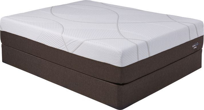 Therapedic Titania Low Profile Queen Mattress Set