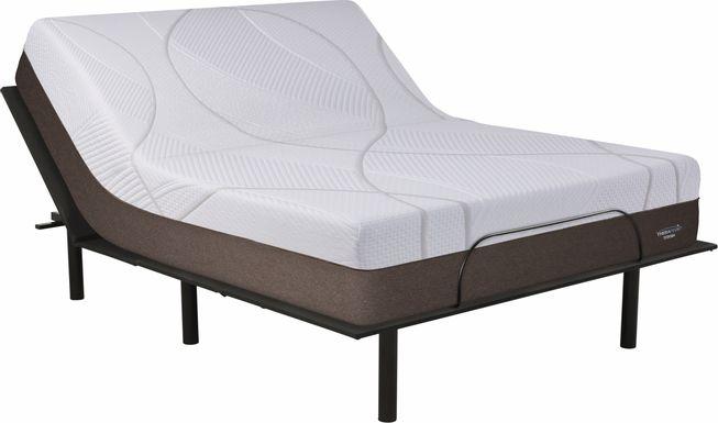 Therapedic Titania Queen Mattress with RTG Sleep 2000 Adjustable Base