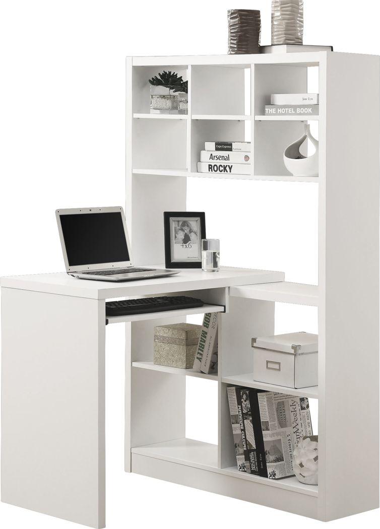 Thornhill White Desk