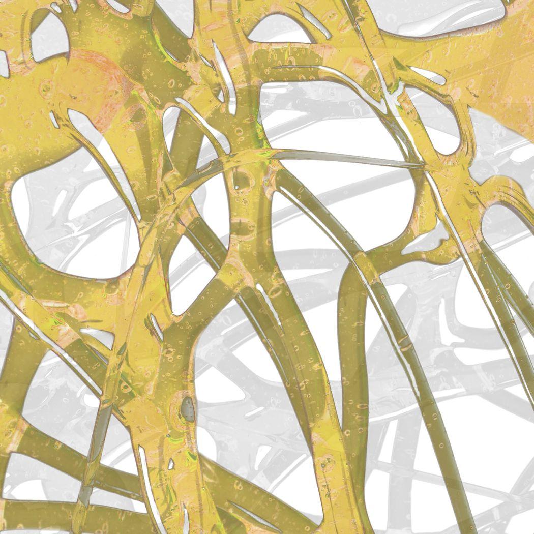 Through the Gaps II Yellow Artwork