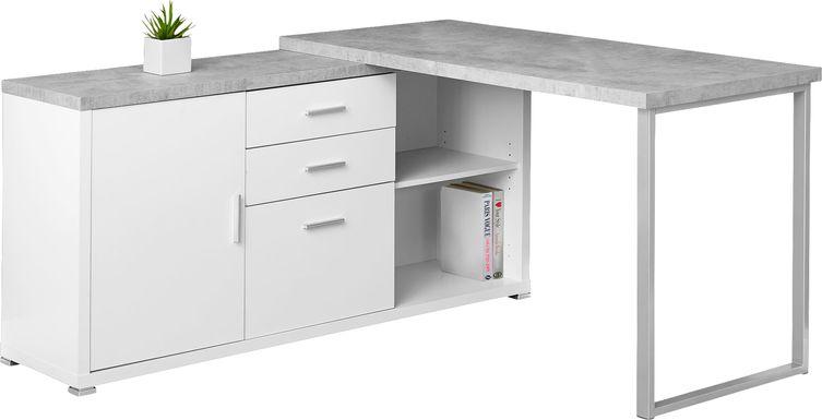 Thurman White Desk