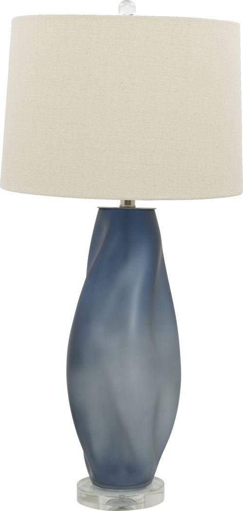 Tibby Blue Lamp