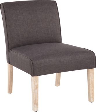 Tibwin Charcoal Accent Chair