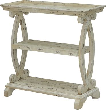 Tilden Way White Console Table