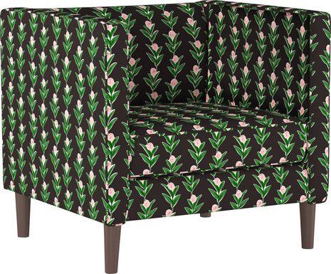 Tilney Black Accent Chair