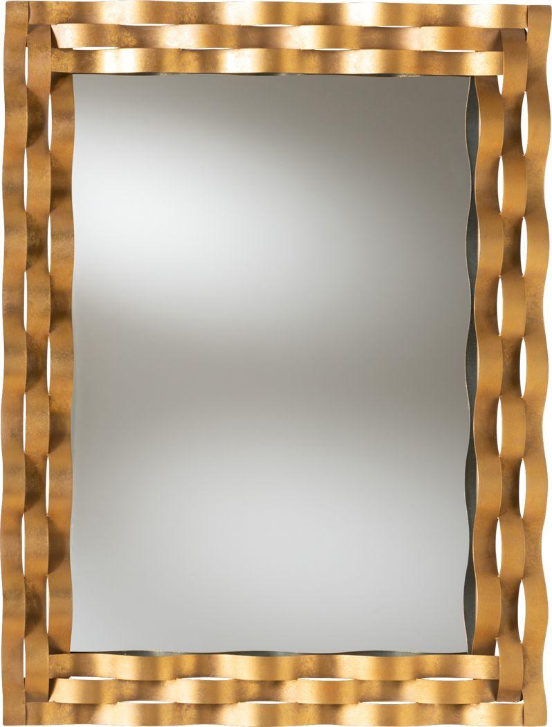 Tira Gold Mirror