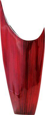 Tirana Red Vase