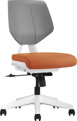 Tobie Orange Office Chair