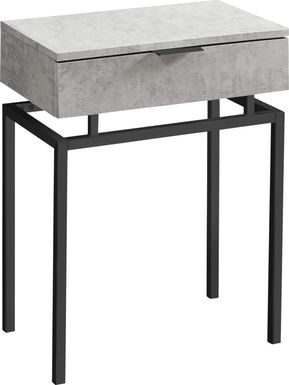 Tobylynn Black Accent Table