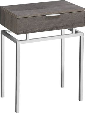 Tobylynn Taupe Accent Table