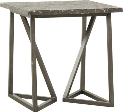 Tobyn Silver End Table
