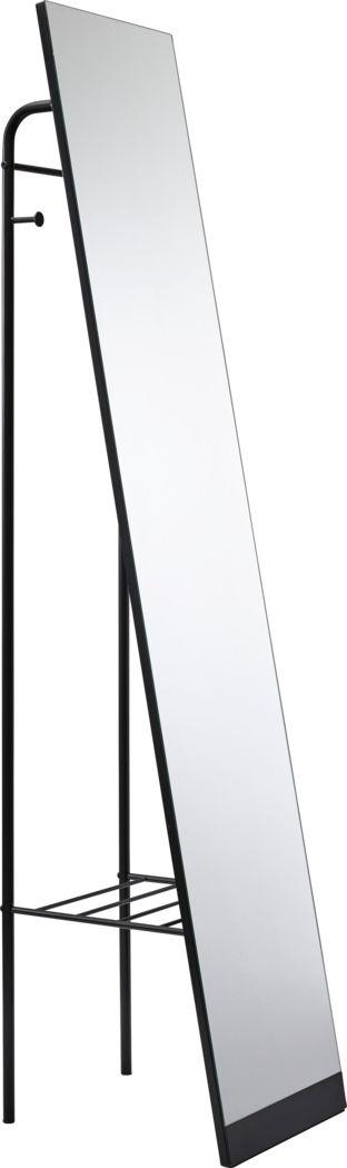 Toftree Black Leaner Mirror